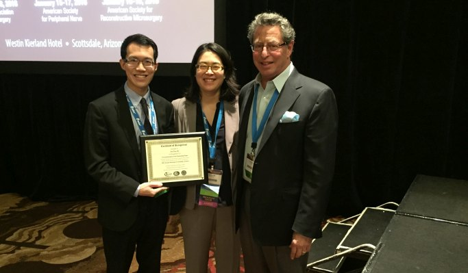 Eric Wan wins best paper at ASPN meeting 2016