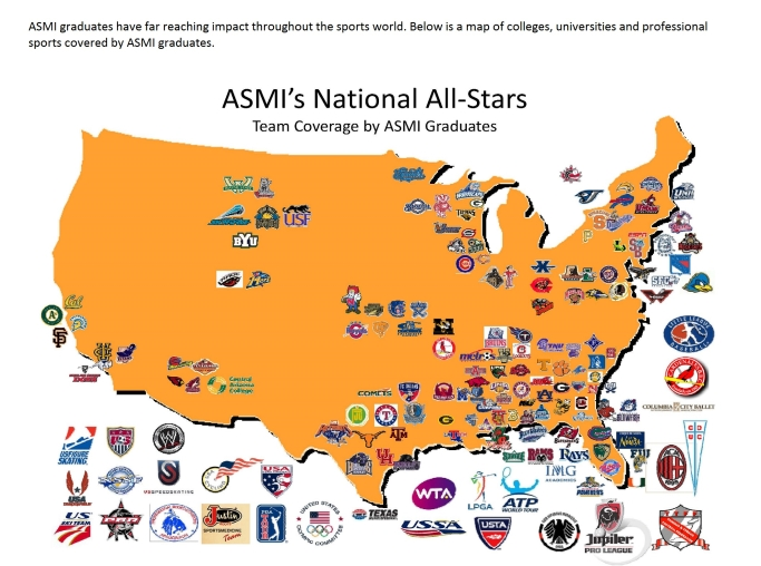 News - Map of us sports teams