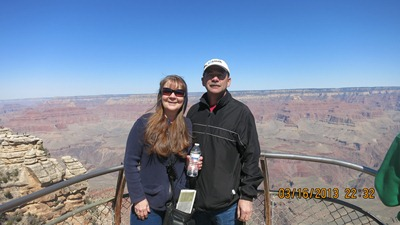 Buck-Beckie at Grand Canyon 3-2013