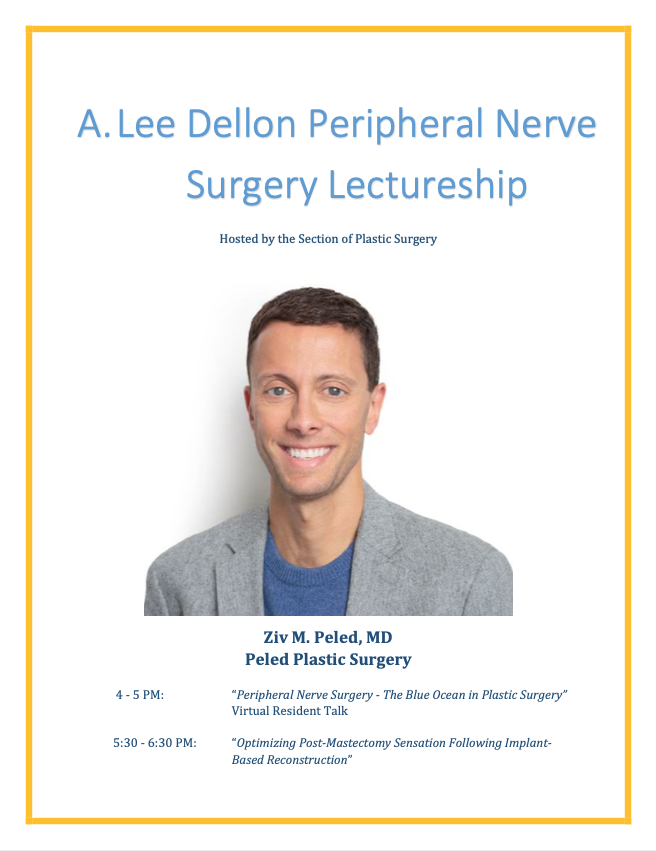2020 Virtual A. Lee Dellon Peripheral Nerve Surgery Lectureship.pdf 1 page 2020 11 12 08 19 10