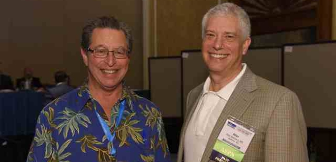Allan Belzberg and Lee at ASPN 2015